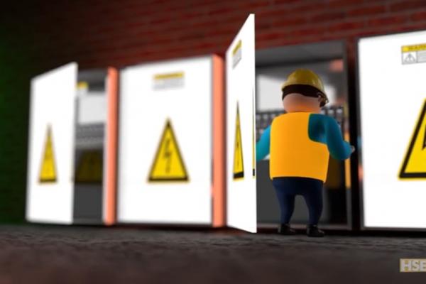 Animación 3D Prevención de Riesgos